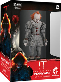 IT: Pennywise (2019 Movie) Horror Figurine Collection (1:16 Scale Figurine)