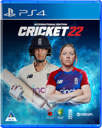 Cricket 22: The Official Game of The Ashes (PS4)