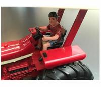 AT-Collections - 1:32 Young Farmer Driving Tractor (Die Cast Model) - Cover