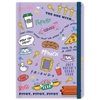 Friends - A5 Casebound Notebook - Icons