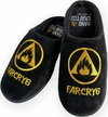 Far Cry 6 - logo Mule Slippers Adult Rubber sole - Large (UK Size: 8-10)