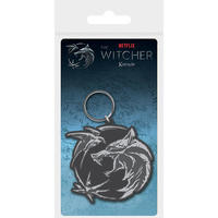 The Witcher - Wolf Swallow Star Rubber Keychain
