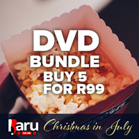 Buy 5 DVD's for R99