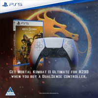 Get Mortal Kombat II Ultimate (PS5) for R299 When You Buy a PlayStation 5 DualSense Controller