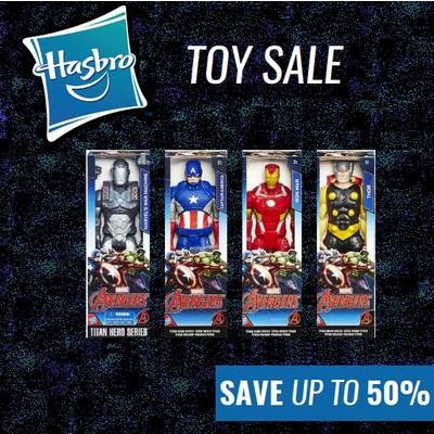 Hobbies & Toys Winter Sale - Save up to 50% on Selected Hasbro Toys