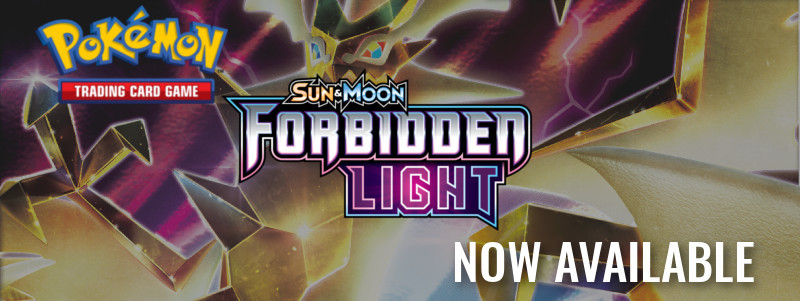 Pokémon TCG Sun & Moon: Forbidden Light Cards & Accessories Now Available