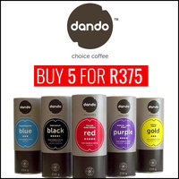 Buy A Dando Coffee Bundle For R375 - Save 21%