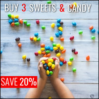 In Stock Sweets, Candy & Biscuits: Buy 3 & Save 20%