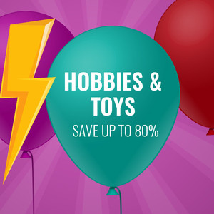 Save Up To 80% On Hobbies & Toys