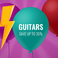 Save Up To 35% On Guitars
