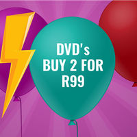 Buy 2 DVD's For R99