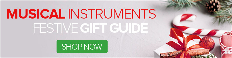 Musical Instruments Festive Gift Guide