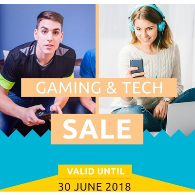 Clearance Sale on Gaming and Tech Accessories - Up To 40% Off - Valid Until 30 June