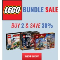 LEGO® In Stock Sale - Buy 2 & Save 30%
