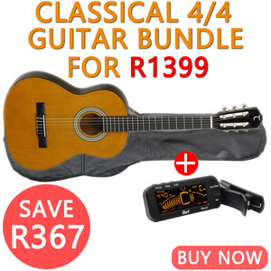 Tanglewood 4/4 Classical Guitar Bundle for R1399