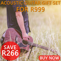 Acoustic Guitar Accessory Gift Bundle