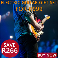 Electric Guitar Accessory Gift Bundle