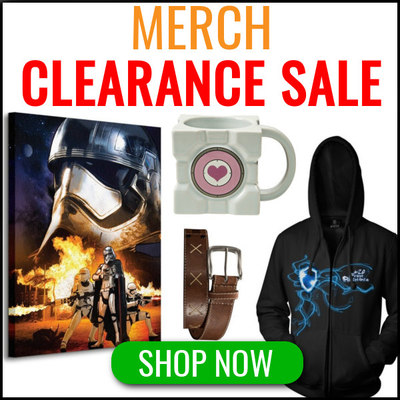 Merch Clearance Sale - Up To 75% Off