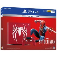 Sony PlayStation 4 Pro & Slim Console PS4 1TB Limited Edition Spider-Man Bundle