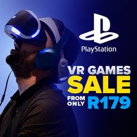 PlayStation 4 VR Games From R179