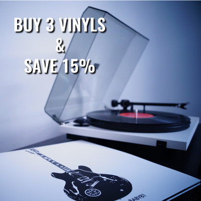 Buy 3 Vinyls & Get 15% Off
