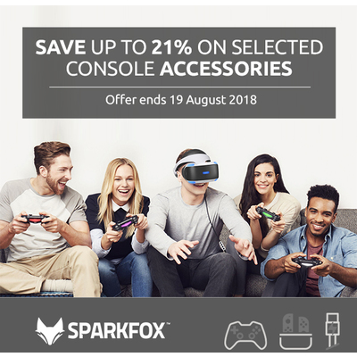 Save Up To 21% on Selected Sparkfox Accessories