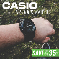 Casio G-Shock Watches on Sale - Save Up To 35%