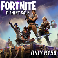 Fortnite T-Shirts on Sale - Now Only R159