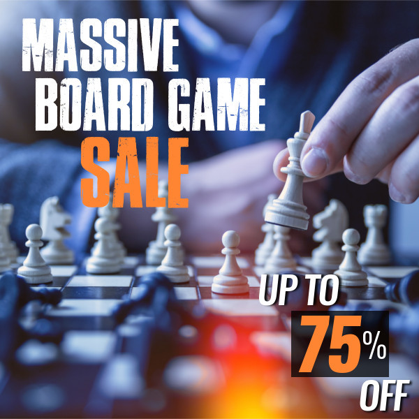 Massive Board Game Sale - Save Up To 75%