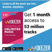 Deezer 1 Month Subscription
