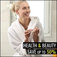 Health & Beauty Sale - Up To 50% Off