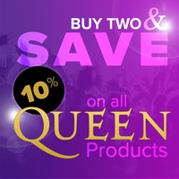 A Tribute to Queen - Buy 2 and Get 10% Off a Selection of Books, Music and Merchandise