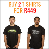 Buy 2 T-Shirts for R449