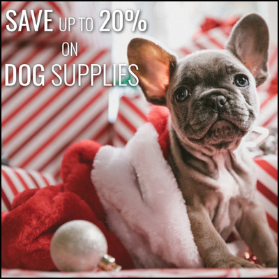 Dog Bedding, Bowls, Clothing & Toys - Save Up To 20%
