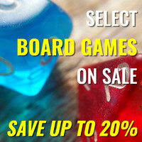 Selected Board Games On Sale - Save Up To 20%