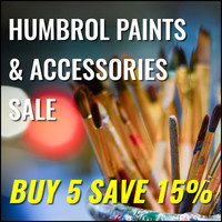 Buy 5 Humbrol Paints & Accessories - Save 15%