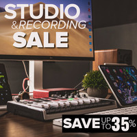 Studio & Recording Gear on Sale - Save Up to 35%