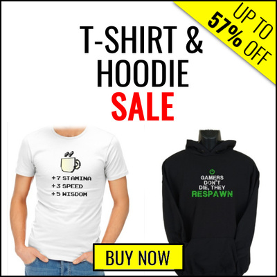 T-Shirt & Hoodie Sale - Up To 57% Off