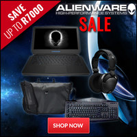Alienware Gaming Notebook Bundle - Save up to R7000