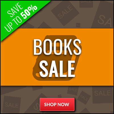 Books Sale - Save up to 50%