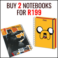Buy 2 Notebooks for R199