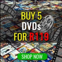 Buy 5 DVD's for R119