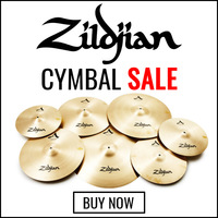 Zildjian Cymbal Sale - Save up to R2000
