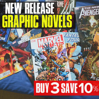 Buy 3 New Release Graphic Novels and Save 10%