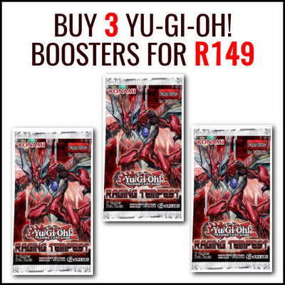 Buy 3 Yu-Gi-Oh! Boosters for R149