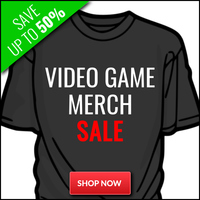 Gaming Merch Sale - Up To 60% Off