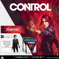 Control (PS4/Xbox One) + Bonus DLC on Pre-Order. Due 27 August 2019.