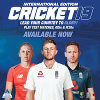 Cricket 2019 International Edition (PS4/Xbox One) Now Shipping