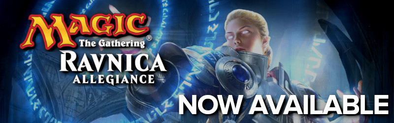 Magic: The Gathering Ravnica Allegiance Now Available