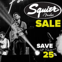 Squier Electric Guitars on Sale - Save Up To 25%